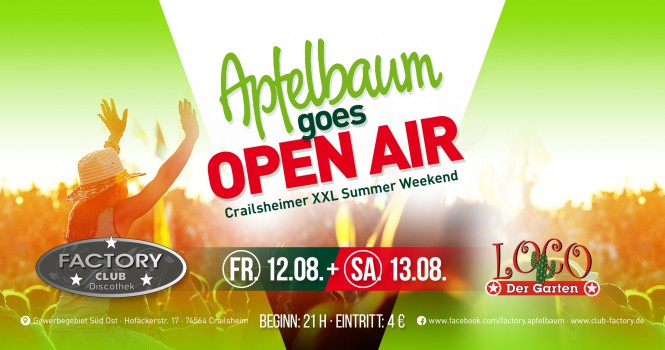 Apfelbaum Goes Open Air‬