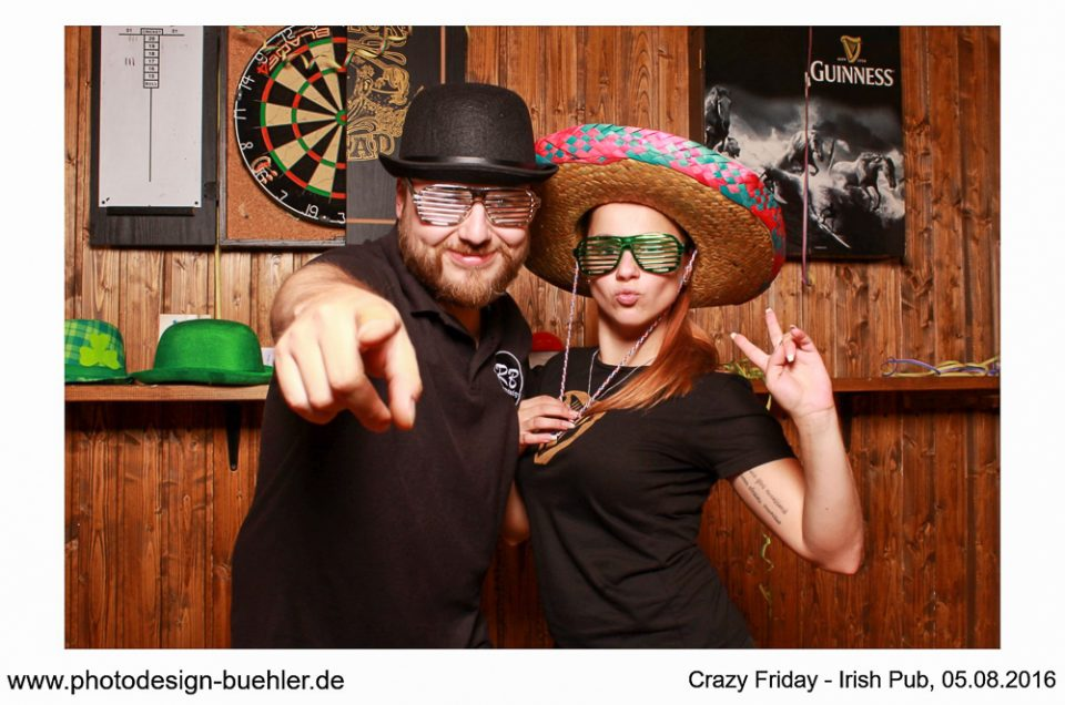 Fotobox Bilder Irish Pub